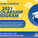 UFCW International College Scholarship Opens May 3, 2021